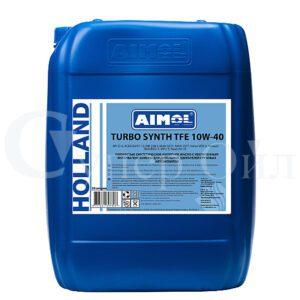 AIMOL Turbo Synth TFE 10W-40 20л синтетическое дизельное моторное масло