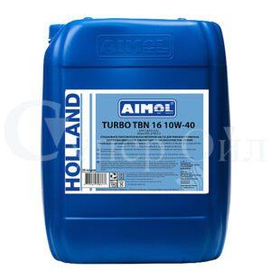 AIMOL Turbo TBN16 10W-40 20 л полусинтетическое дизельное моторное масло