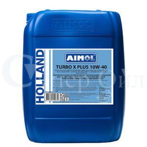 AIMOL Turbo X Plus 10W-40 20л полусинтетическое дизельное моторное масло