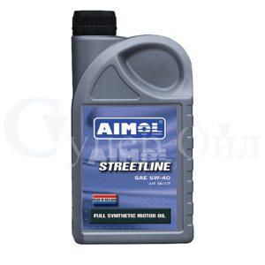 AIMOL Streetline 5W-40 1л синтетическое моторное масло