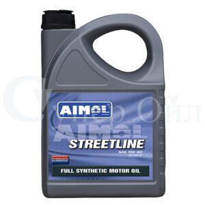 AIMOL Streetline 5W-40 4л синтетическое моторное масло