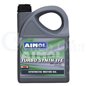 AIMOL Turbo Synth TFE 10W-40 4 л синтетическое дизельное моторное масло