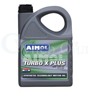 AIMOL Turbo X Plus 10W-40 4л полусинтетическое дизельное моторное масло